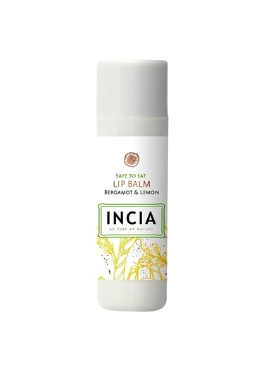Incia Incia Safe To Eat Lip Balm Bergamot and Lemon 6g Renksiz